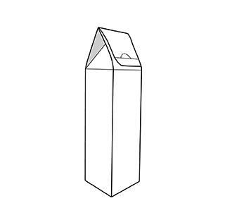 Caixa brick. Envasos personalitzats