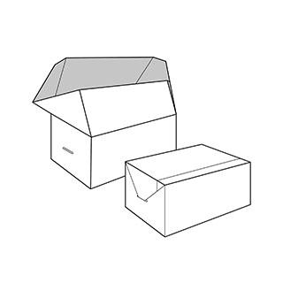 caixa solapes laterals. Envasos personalitzats