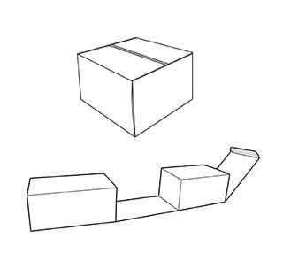 doble caixa. Envasos personalitzats