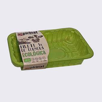Envàs personalitzat verd. Envasos personalitzats.