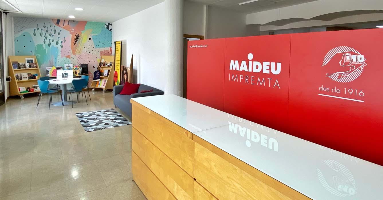 recepció impremta Maideu