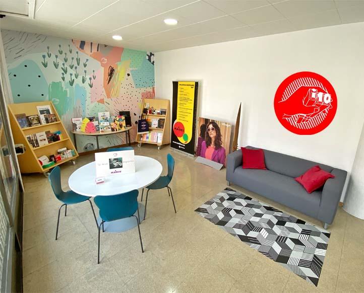 Sala creativa de la impremta Maideu
