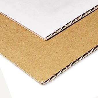 Material rígid cartró microcanal